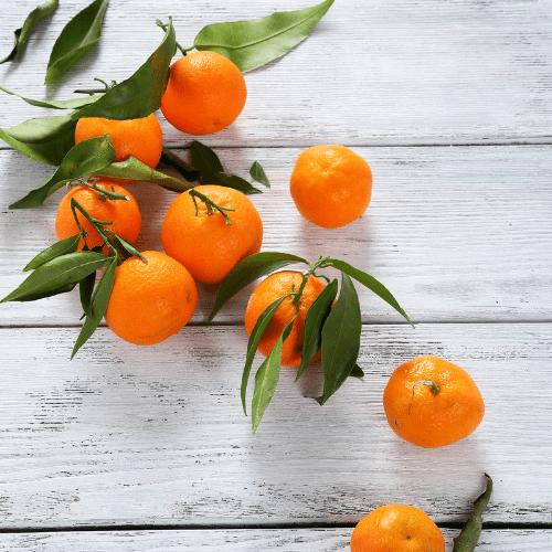 Mandarina, alegría
